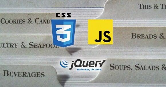 Webサイトでタブ切り替えする方法 3選【CSS・JavaScript・jQuery】
